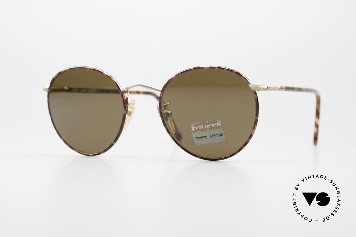 Giorgio Armani 639 No Retro Panto Sonnenbrille