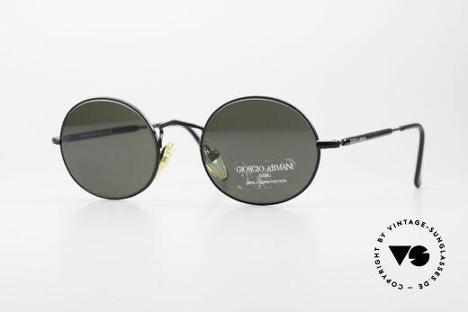 Giorgio Armani 172 Ovale No Retro Sonnenbrille Details