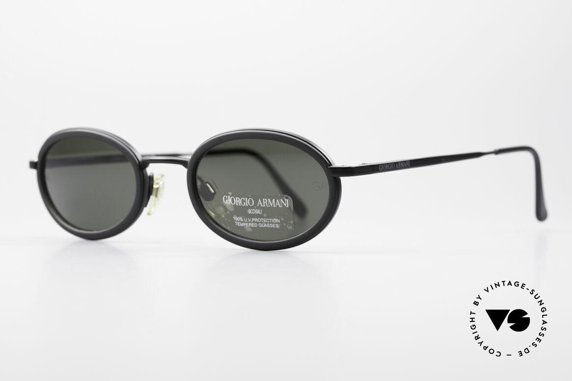 Giorgio Armani 258 Ovale Vintage Sonnenbrille