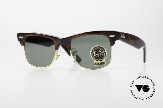 Ray Ban Wayfarer Max Original B&L USA Sonnenbrille Details