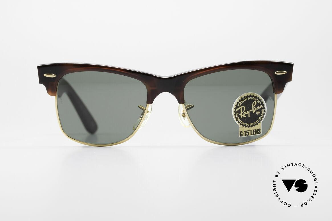 Ray Ban Wayfarer Max Original B&L USA Sonnenbrille, Ray Ban Klassiker aus den USA von Bausch&Lomb, Passend für Herren und Damen