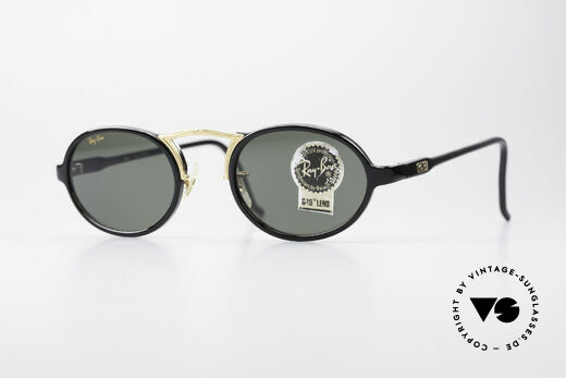 Ray Ban Cheyenne Style III B&L USA Sonnenbrille Oval Details