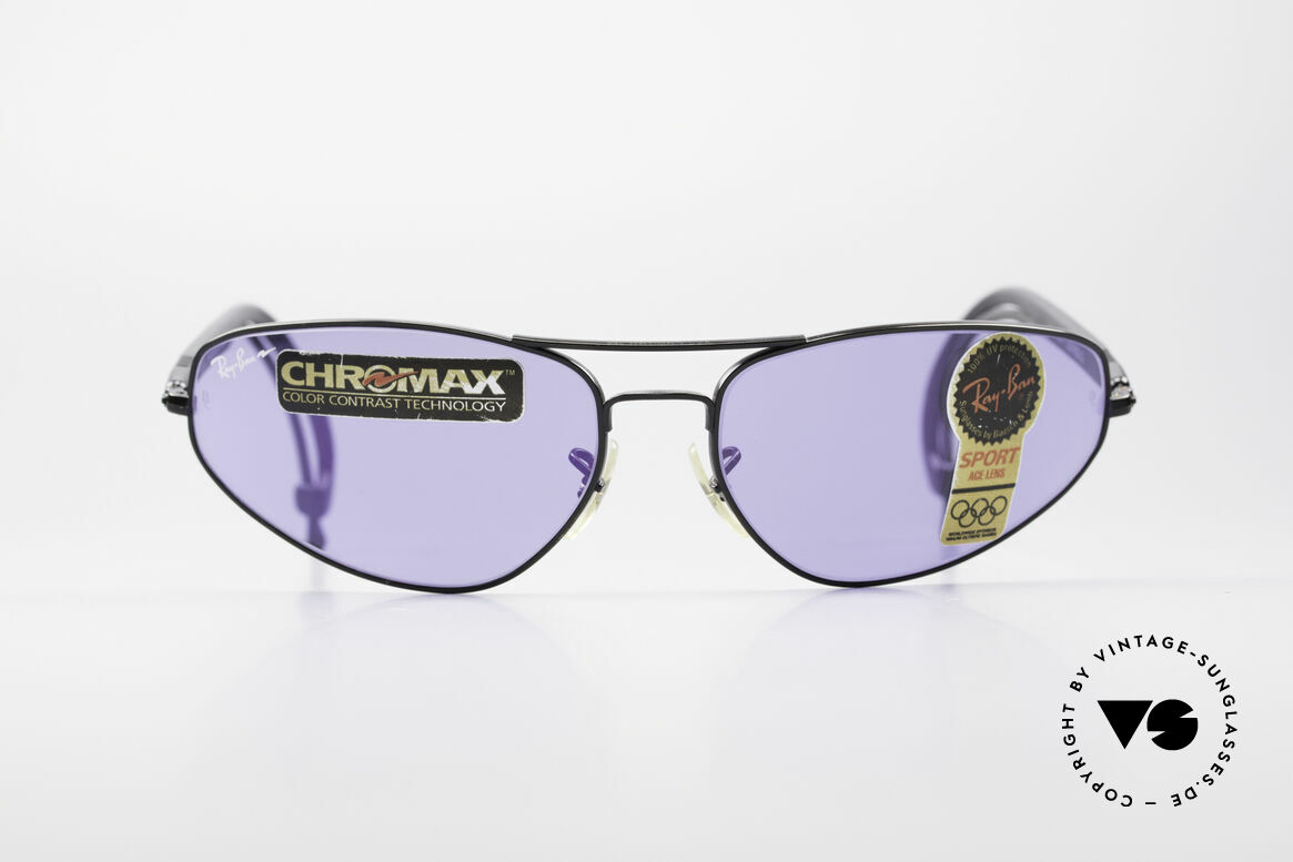 Ray Ban Sport Series 3 ACE Chromax B&L Gläser, teure ACE Gläser mit Color Contrast Technology, Passend für Herren