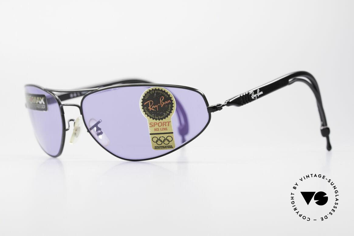 Ray Ban Sport Series 3 ACE Chromax B&L Gläser, die B&L Chromax Gläser verstärken Farbkontraste, Passend für Herren