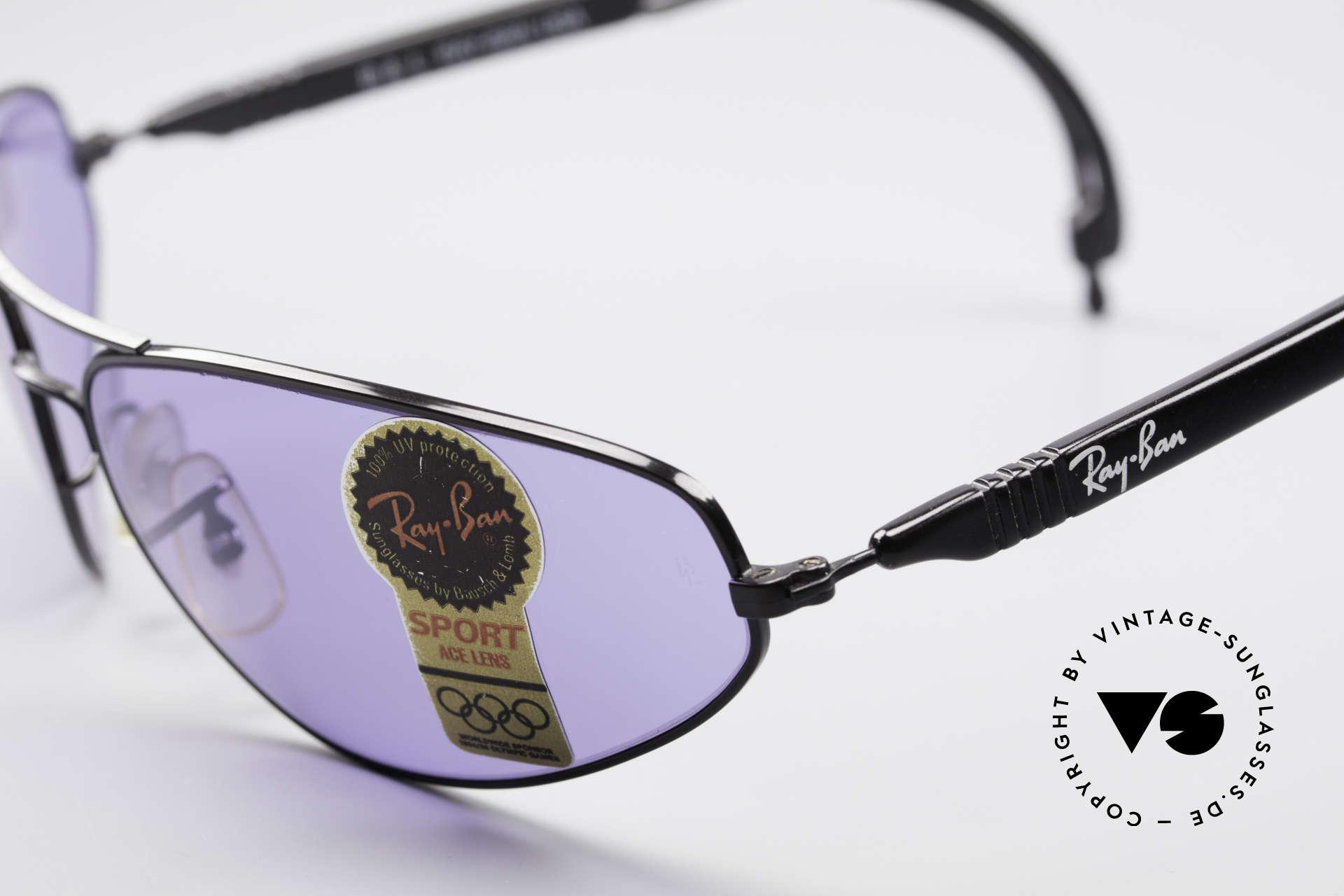 Ray Ban Sport Series 3 ACE Chromax B&L Gläser, KEINE Retrobrille, sondern ein altes USA-Original, Passend für Herren
