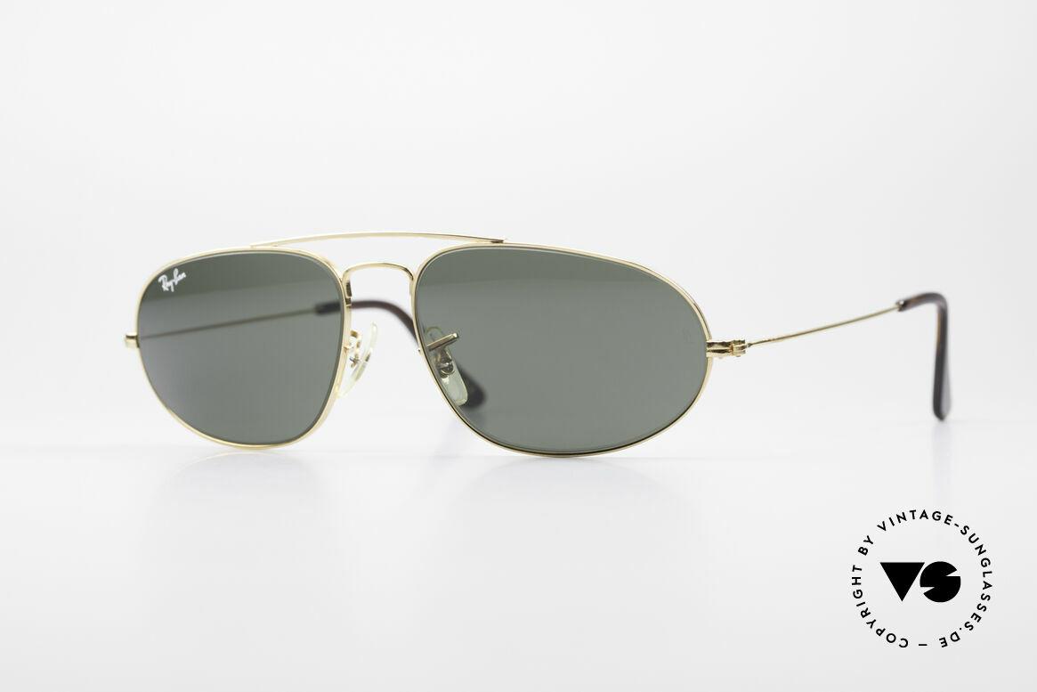 Ray Ban Fashion Metal 5 Sonnenbrille Aviator Style, vintage Modell aus der Fashion Metal Collection, Passend für Herren