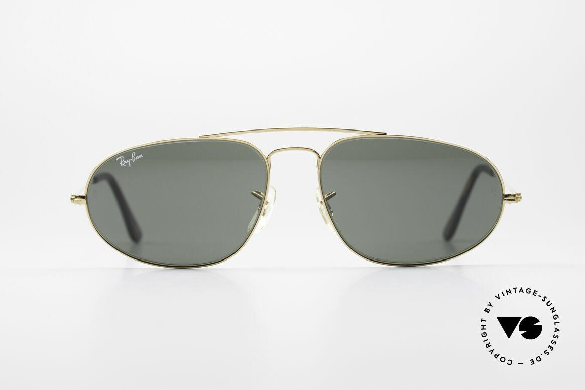 Ray Ban Fashion Metal 5 Sonnenbrille Aviator Style, die etwas modifizierte Pilotenform von Ray Ban, Passend für Herren