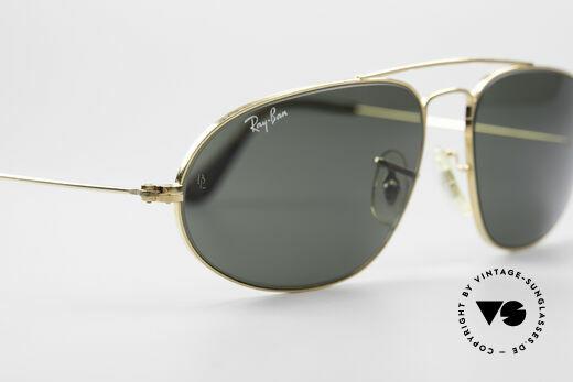 Ray Ban Fashion Metal 5 Sonnenbrille Aviator Style, orig. Name: Fashion Metals 5, W1597, G15, 58/16, Passend für Herren