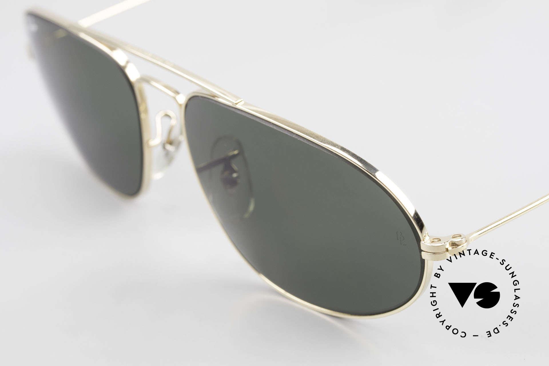 Ray Ban Fashion Metal 5 Sonnenbrille Aviator Style, ungetragen (wie alle unsere alten USA Ray-Bans), Passend für Herren