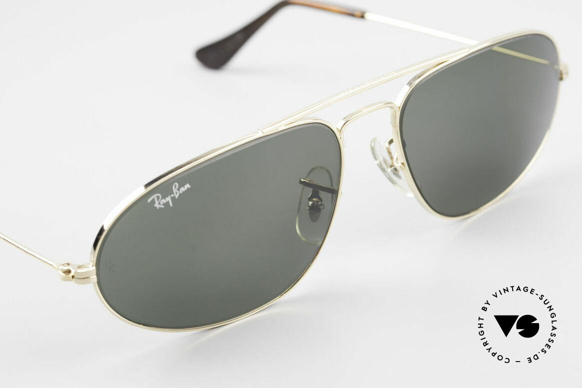 Ray Ban Fashion Metal 5 Sonnenbrille Aviator Style, KEINE Retrosonnenbrille, 100% vintage (25J. alt), Passend für Herren