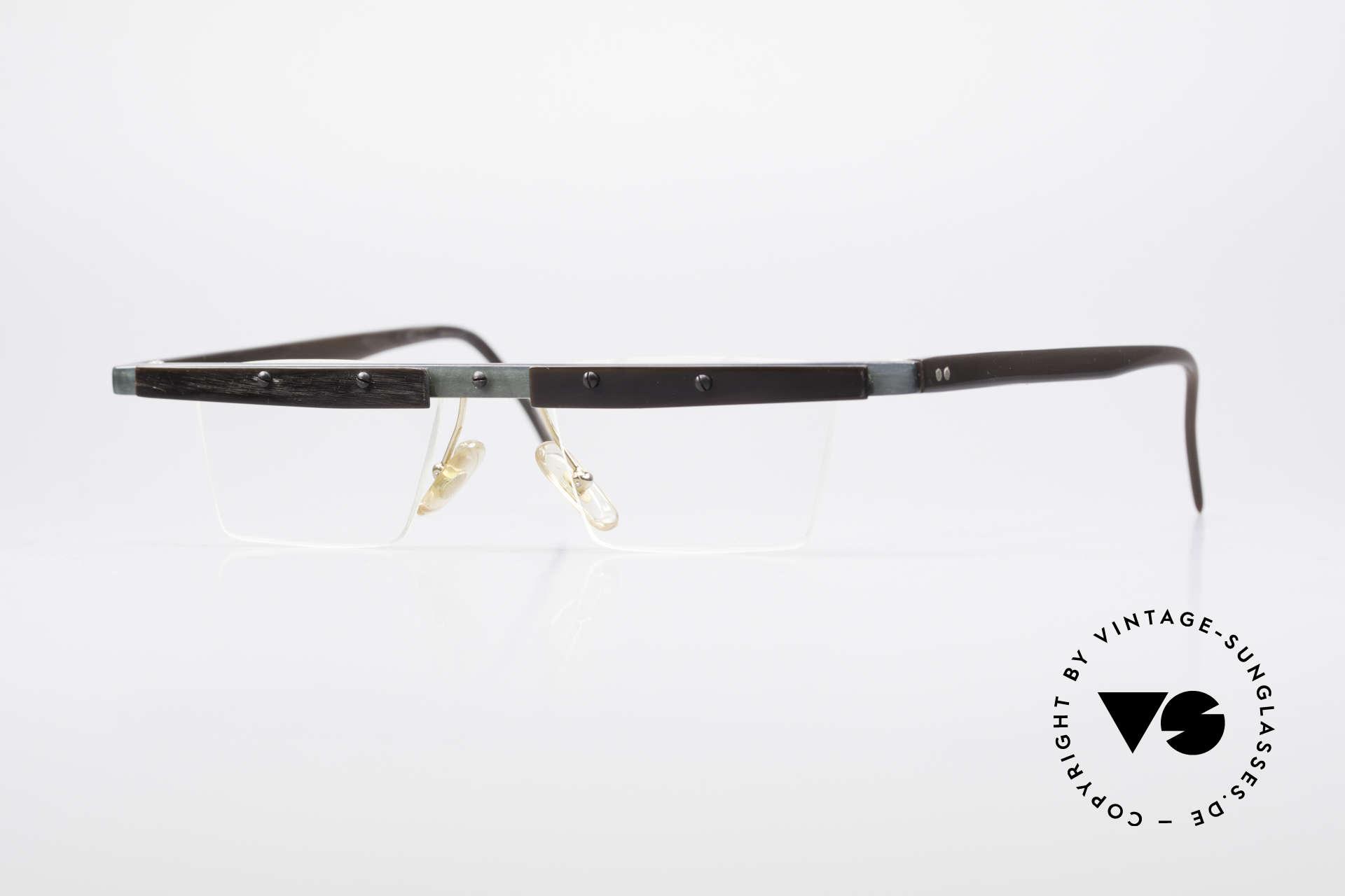 Theo Belgium Lambeta Büffelhorn Brillenfassung, Theo Belgium: die eigenwilligste Brillenmarke, weltweit, Passend für Herren