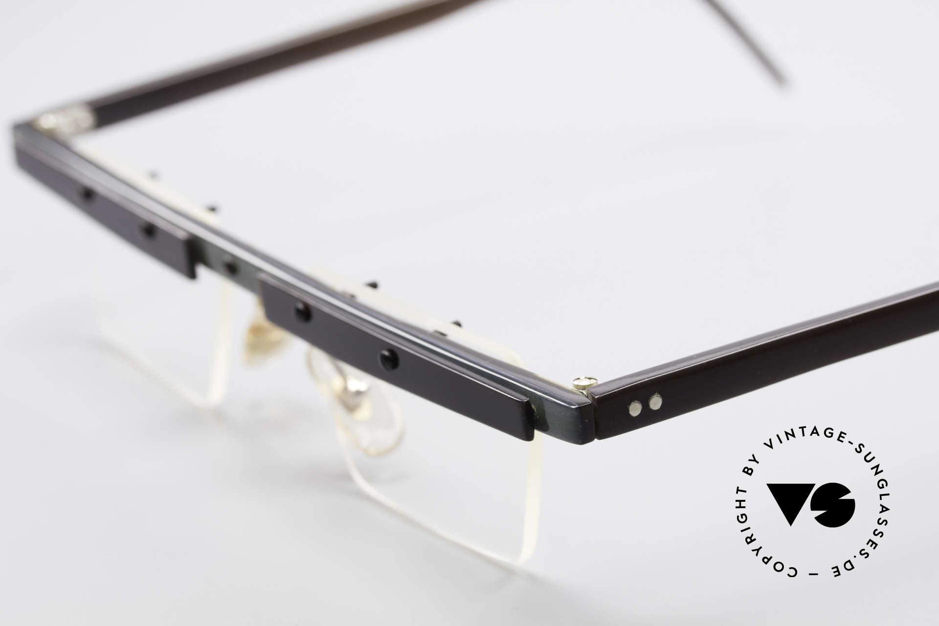 """Theo Belgium Lambeta Büffelhorn Brillenfassung, die 1. Theo Serie """"Balkenbril"""" wurde aus Horn gerfertigt, Passend für Herren"""