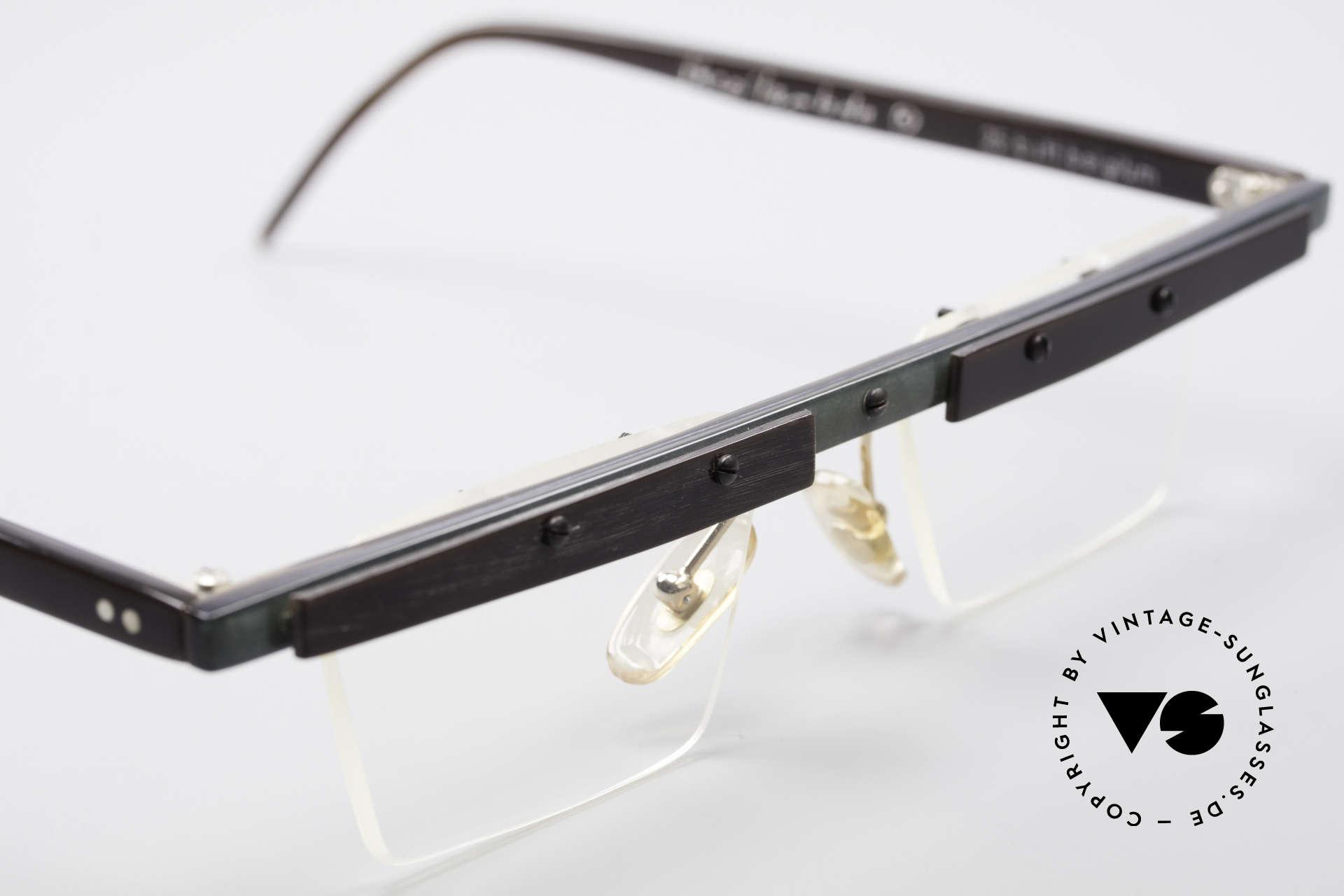 Theo Belgium Lambeta Büffelhorn Brillenfassung, sozusagen: vintage Brillenfassung mit Symbol-Charakter, Passend für Herren