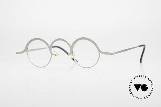 Theo Belgium Jeu Trendsetter Vintage Brille Details