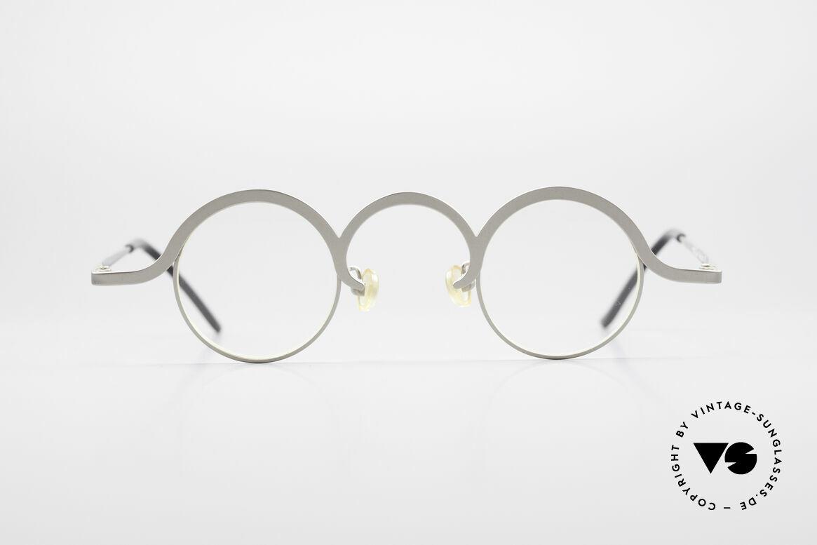 Theo Belgium Jeu Trendsetter Vintage Brille, 'Theo' bekannt als Gegenpol zum üblich 'Mainstream', Passend für Herren und Damen