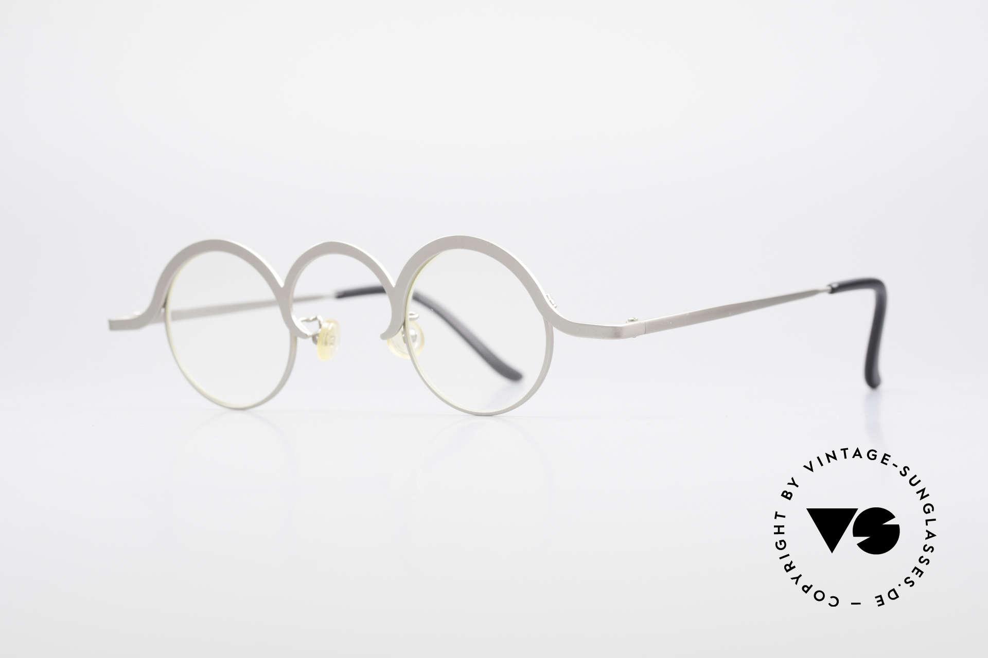 Theo Belgium Jeu Trendsetter Vintage Brille, gemacht für die 'Avantgarde' und für Individualisten, Passend für Herren und Damen
