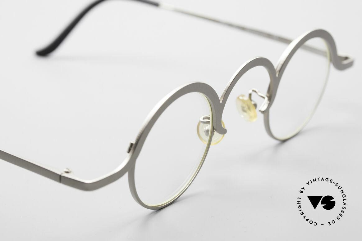 Theo Belgium Jeu Trendsetter Vintage Brille, ungetragenes Theo-Exemplar für die, die sich trauen, Passend für Herren und Damen
