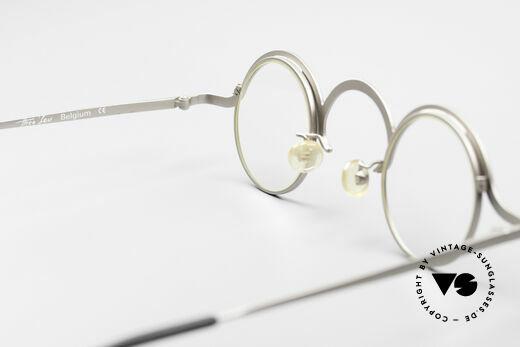 Theo Belgium Jeu Trendsetter Vintage Brille, sozusagen: eine Designer-Brille mit Symbol-Charakter, Passend für Herren und Damen