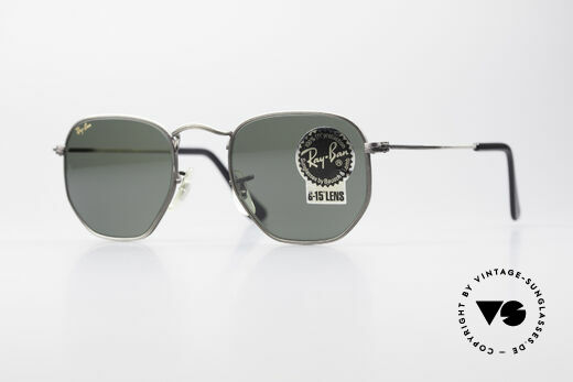 Ray Ban Classic Style III B&L USA Sonnenbrille Antik Details