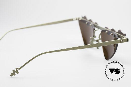 Theo Belgium Tita II C10 Herzförmige Sonnengläser, auf 199€ reduziert, da Mini-Kratzerchen durch Lagerung, Passend für Damen