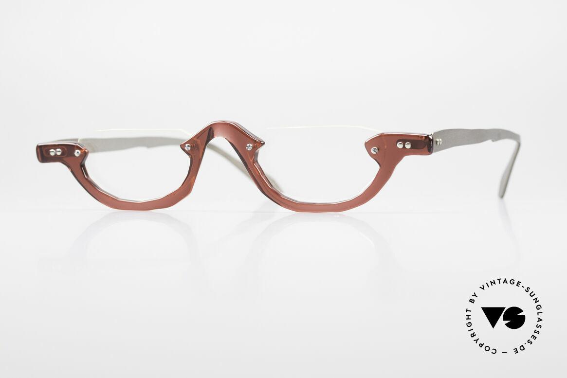 Theo Belgium Eye-Witness AE27 Crazy Vintage Lesebrille, Theo Belgium: die eigenwilligste Brillenmarke, weltweit, Passend für Herren und Damen