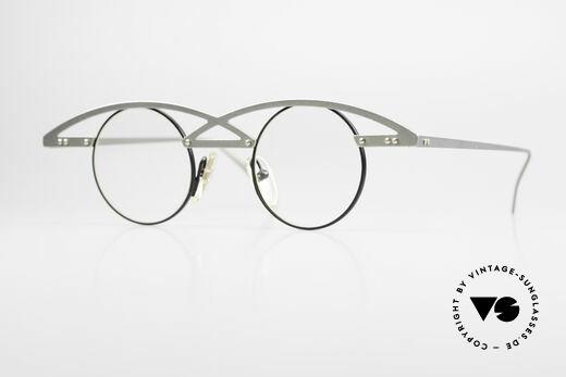 Theo Belgium Centder 7 Avantgarde Vintage Brille Details