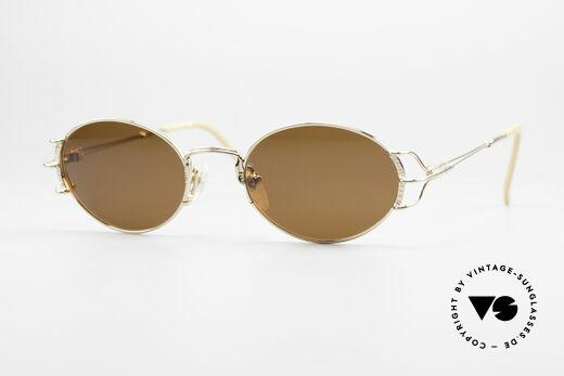 Jean Paul Gaultier 55-6104 Ovale Vintage Sonnenbrille Details