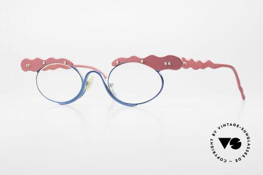 Theo Belgium These Verrückte Vintage Brille Details