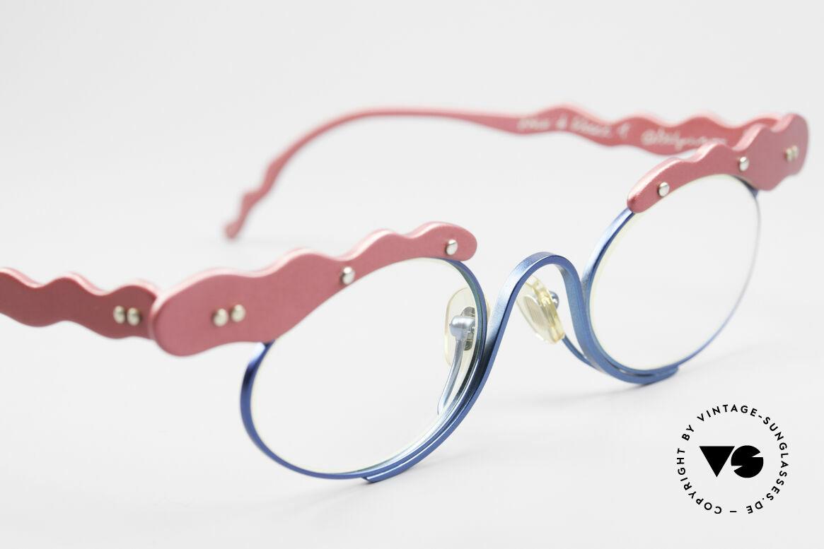 Theo Belgium These Verrückte Vintage Brille