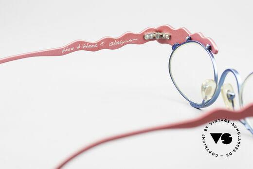 Theo Belgium These Verrückte Vintage Brille, sozusagen: eine Designer-Brille mit Symbol-Charakter, Passend für Damen