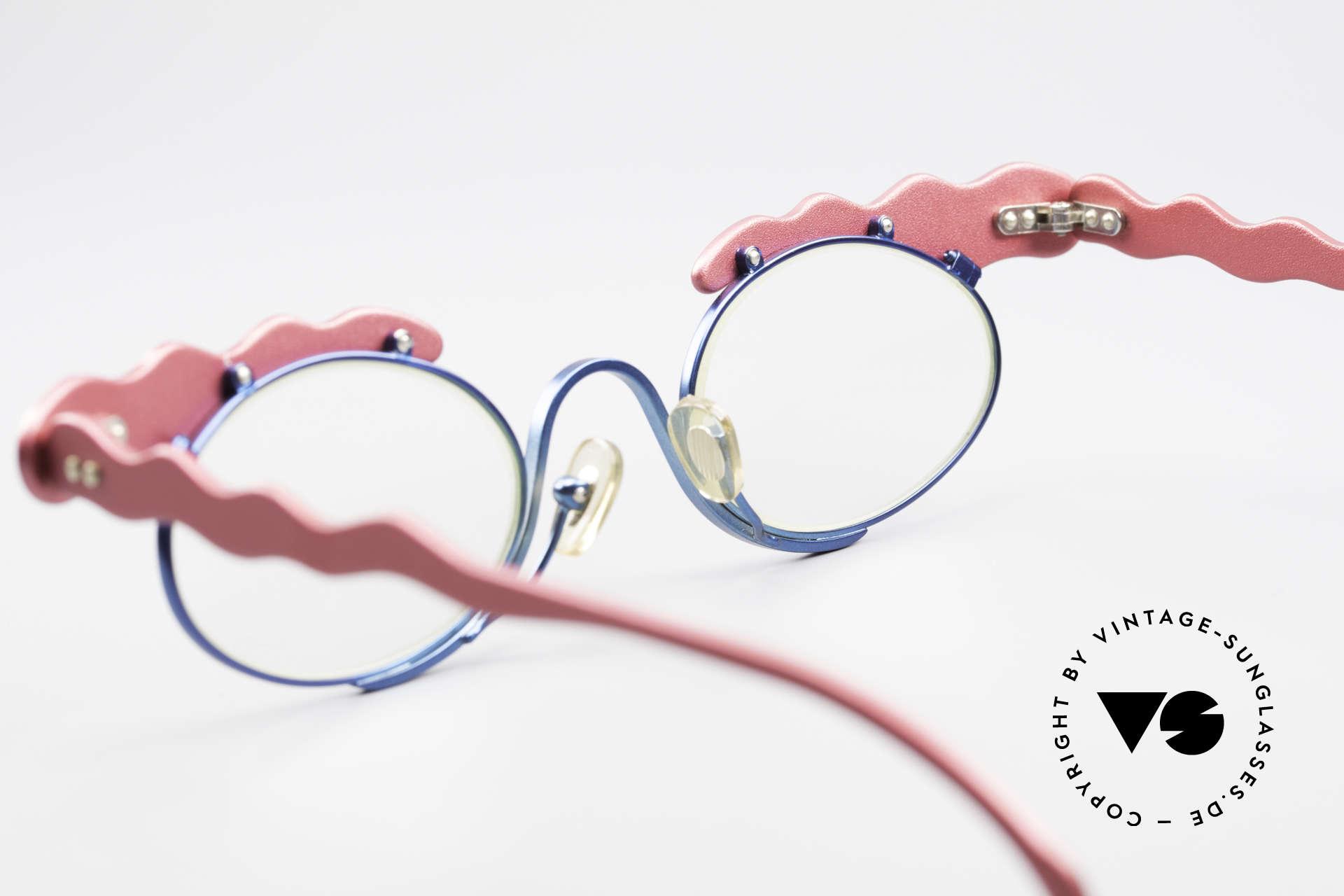 Theo Belgium These Verrückte Vintage Brille, Größe: medium, Passend für Damen