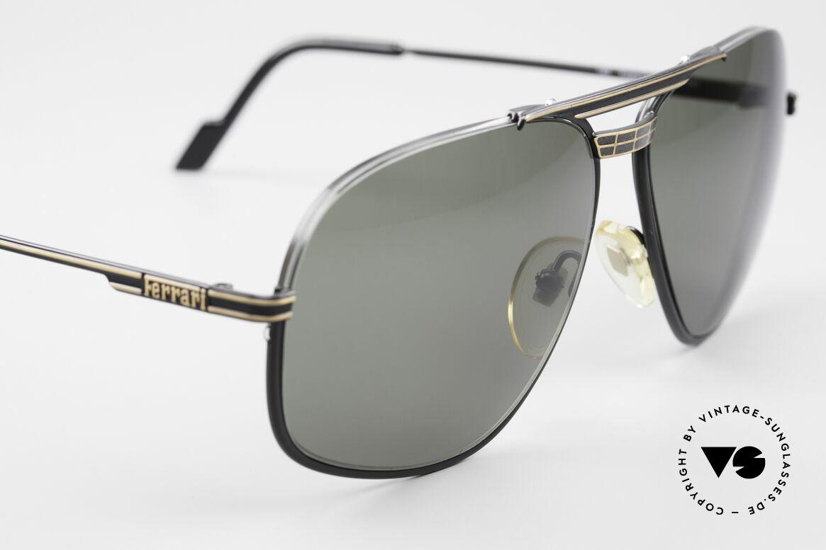 Ferrari F4 - L Rennfahrer Sonnenbrille 80er, KEINE Retrosonnenbrille; ein echtes 80er ORIGINAL, Passend für Herren