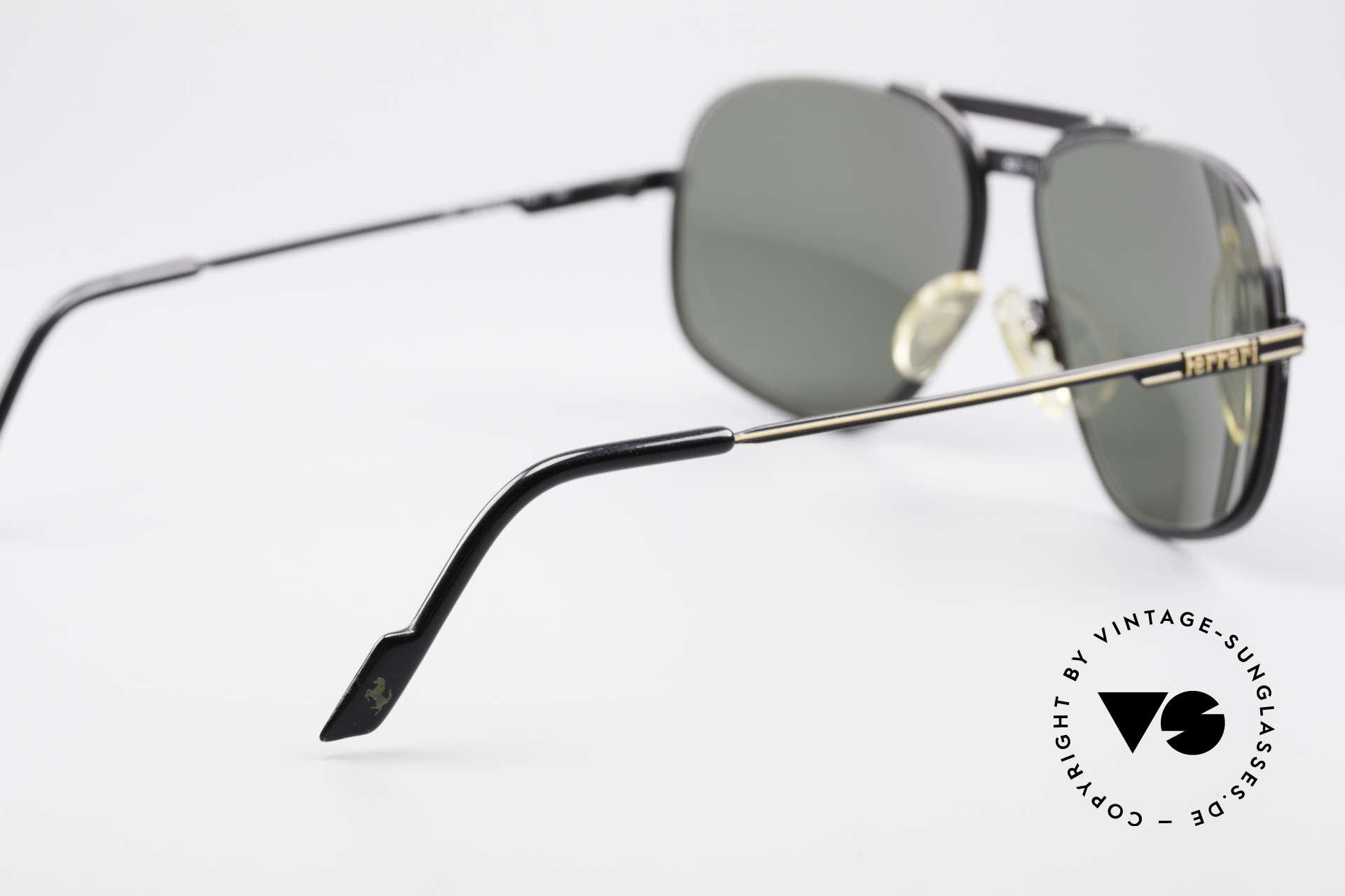 Ferrari F4 - L Rennfahrer Sonnenbrille 80er, die Fassung könnte ggf auch optisch verglast werden, Passend für Herren