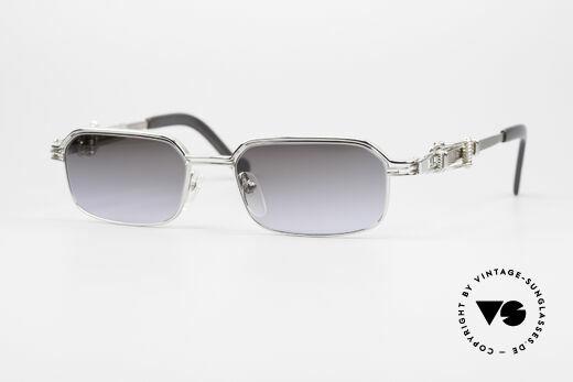 Jean Paul Gaultier 56-0002 Brille mit Gürtelschnalle Details