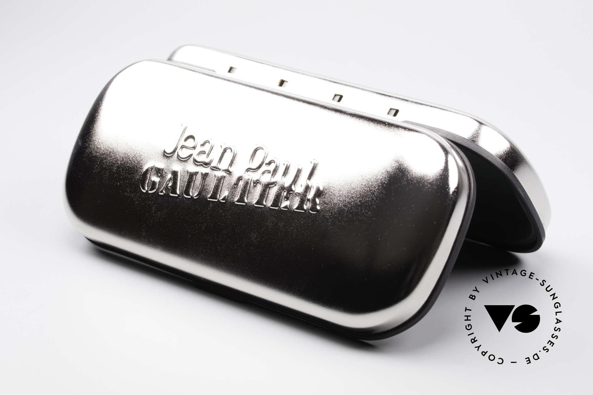 Jean Paul Gaultier 56-0002 Brille mit Gürtelschnalle, Größe: medium, Passend für Herren