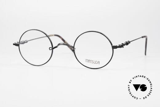 Matsuda 2869 Runde 90er Vintage Brille Details