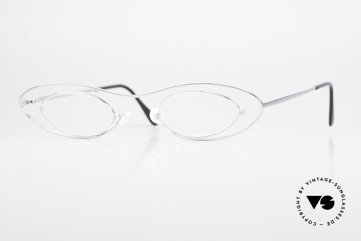 Theo Belgium Mama Die Vintage Brille Für Mama, witzige vintage Brille von THEO Belgium der 1990er, Passend für Damen
