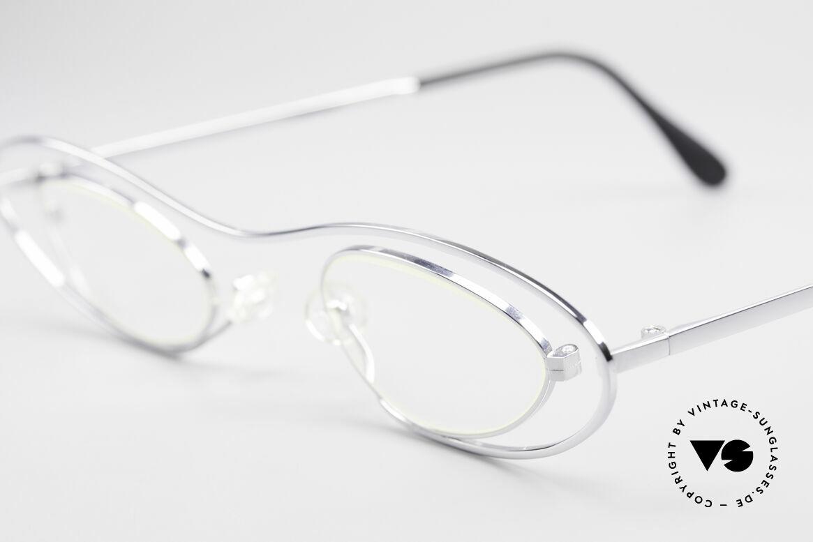 Theo Belgium Mama Die Vintage Brille Für Mama, wirklich außergewöhnliche Fassung; ein Kunstobjekt, Passend für Damen