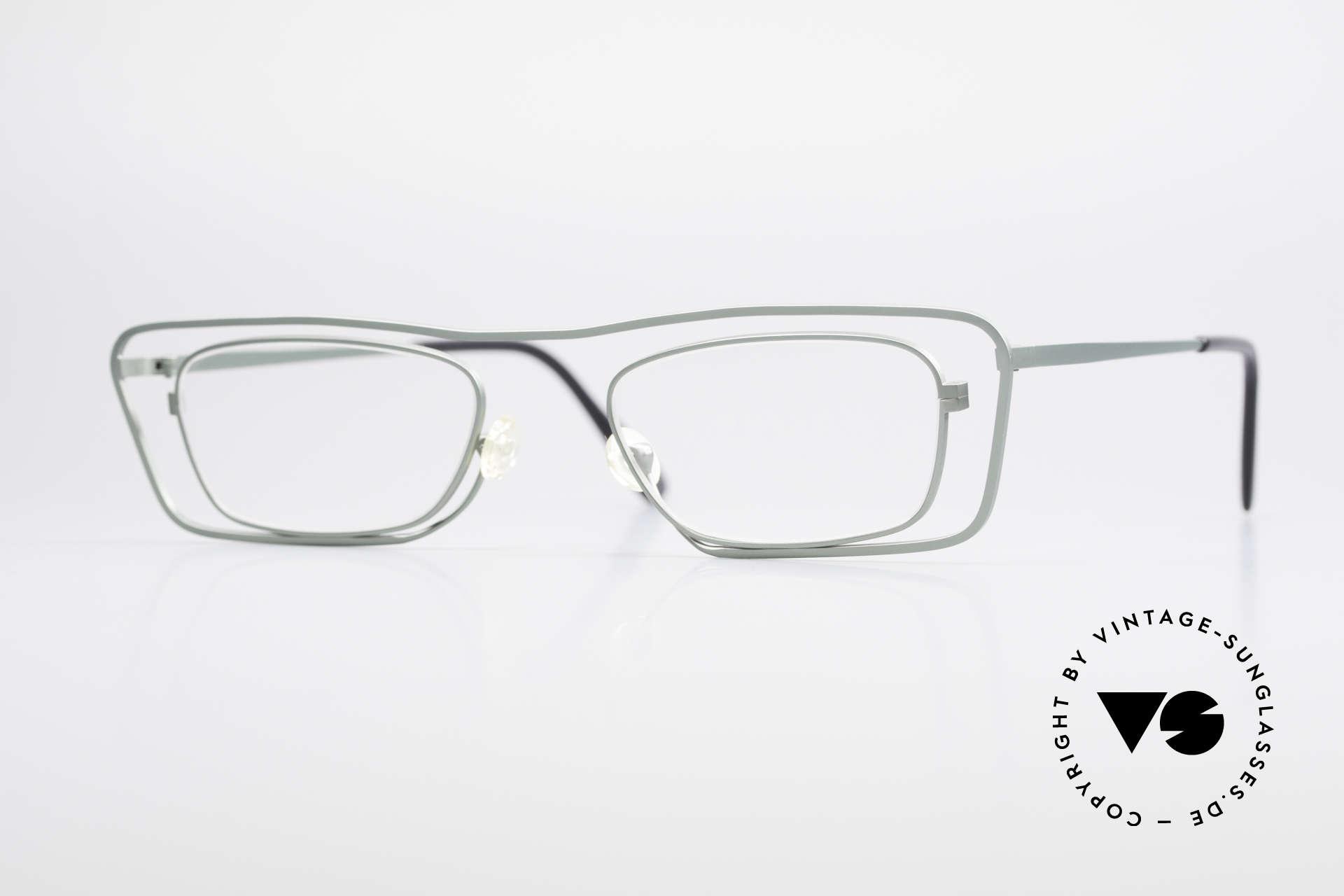 Theo Belgium Papa Die Vintage Brille Für Papa, witzige vintage Brille von THEO Belgium der 1990er, Passend für Herren