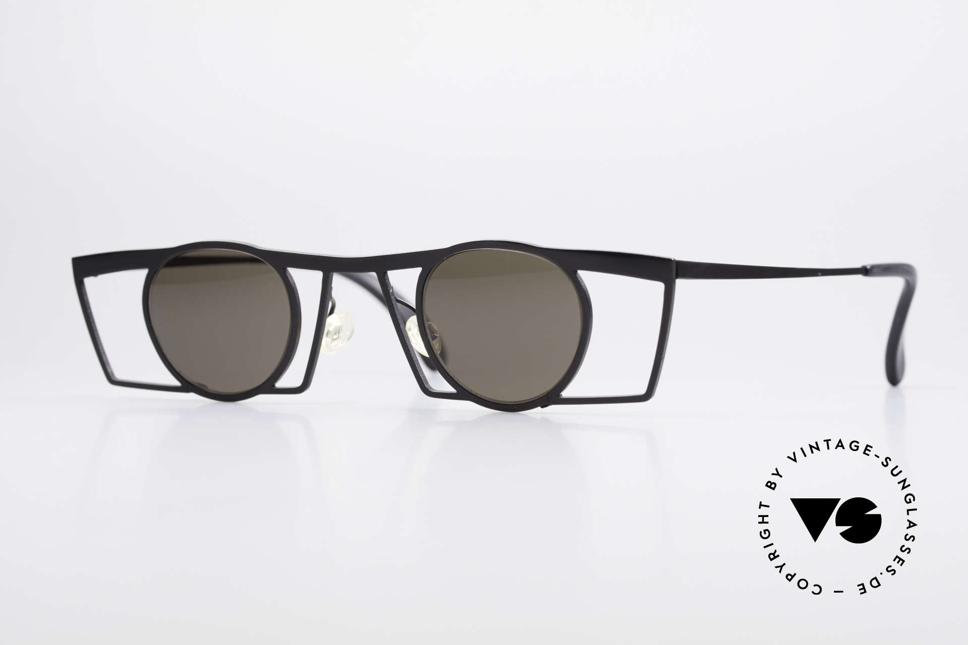 Theo Belgium Jupiter Eckige Designer Sonnenbrille, Theo Belgium: die eigenwilligste Brillenmarke, weltweit, Passend für Herren und Damen