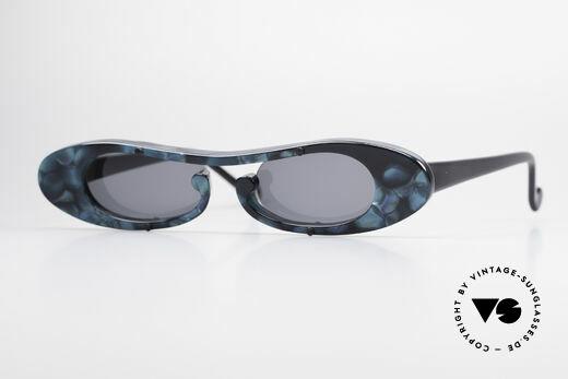 Theo Belgium Rage Avantgarde Sonnenbrille 90er Details