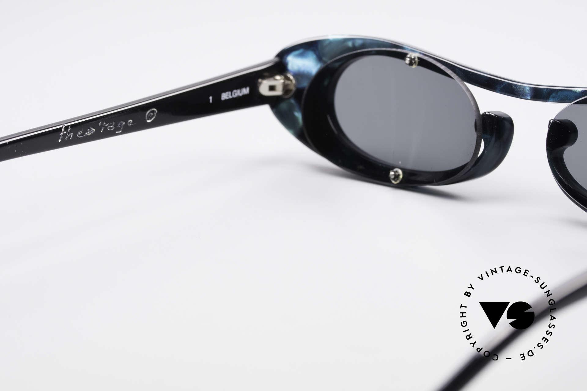 Theo Belgium Rage Avantgarde Sonnenbrille 90er, ungetragenes Theo-Einzelstück für die, die sich trauen ;), Passend für Damen