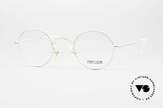Matsuda 2872 Runde 90er Designer Brille Details