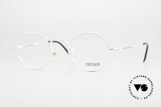 Matsuda 2872 90er Designer Brille Rund Details