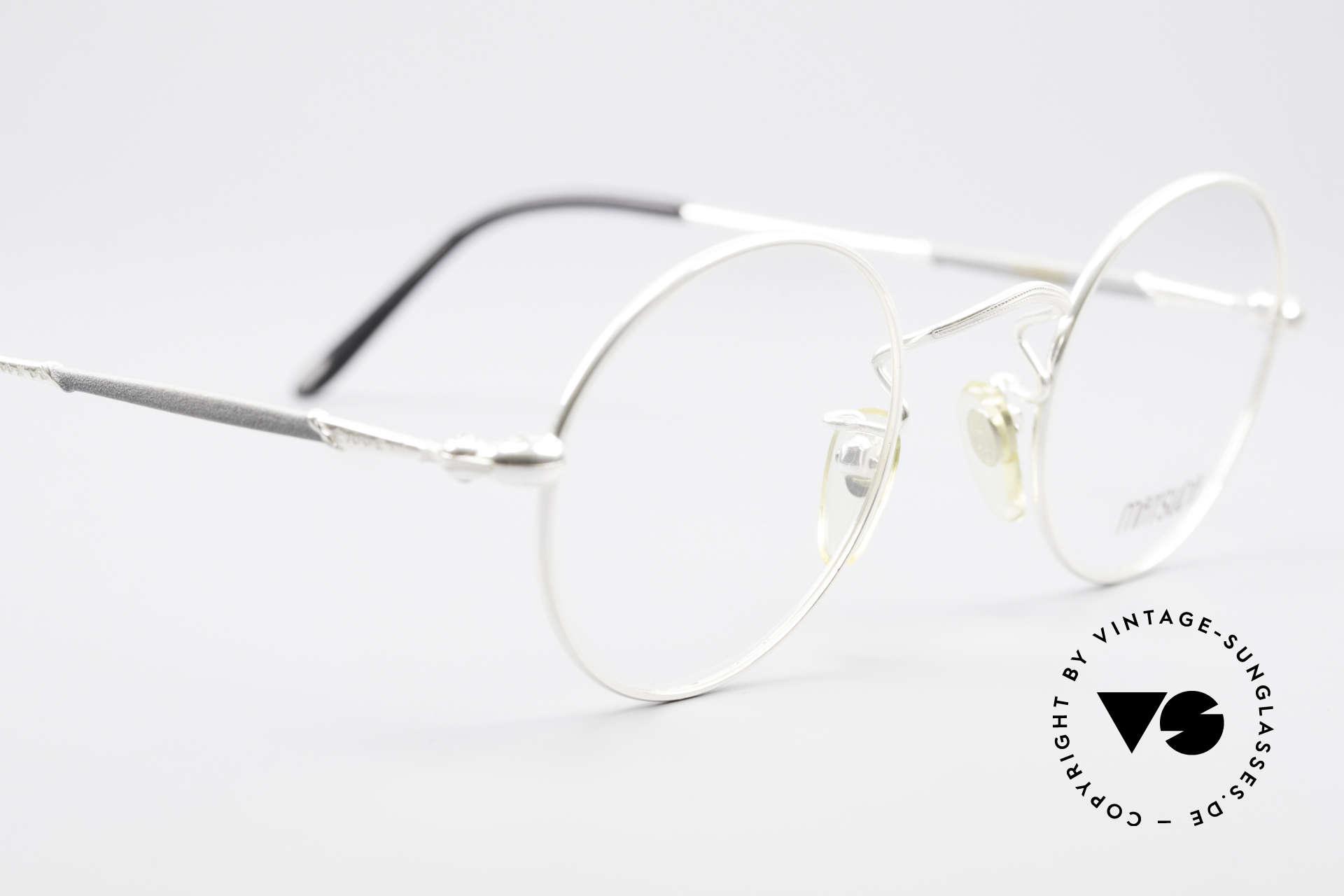 Matsuda 2872 90er Designer Brille Rund, Größe: small, Passend für Herren und Damen