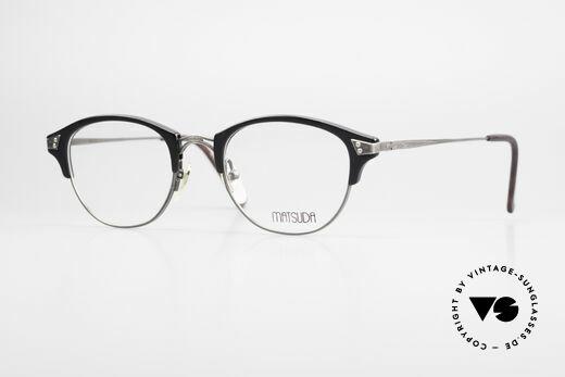 Matsuda 2840 Luxus Vintage Brille Panto Details