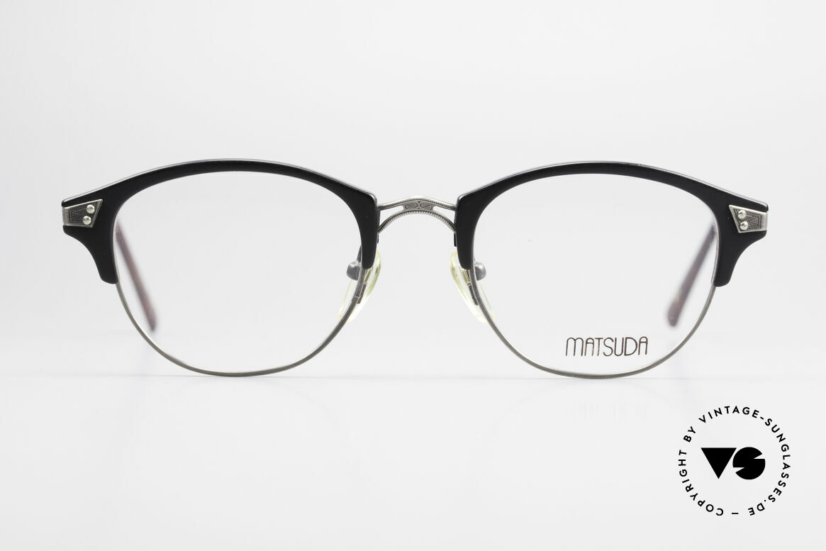 Matsuda 2840 Luxus Vintage Brille Panto, 90er Jahre vintage Designer-Sonnenbrille von MATSUDA, Passend für Herren und Damen