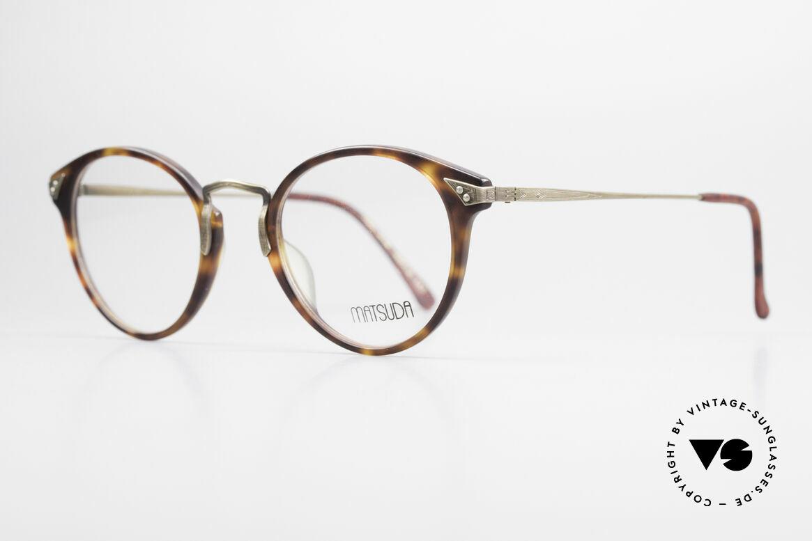Matsuda 2805 Vintage Brille Panto Style, sämtliche Komponenten und Verarbeitung = TOP, Passend für Herren und Damen