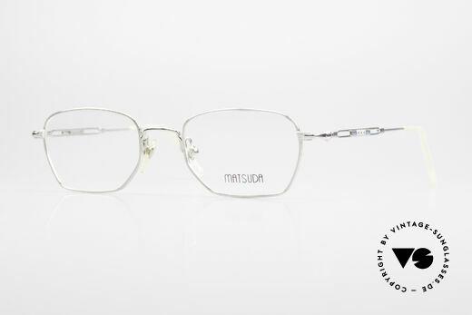 Matsuda 2882 Vintage Brillenfassung Eckig Details