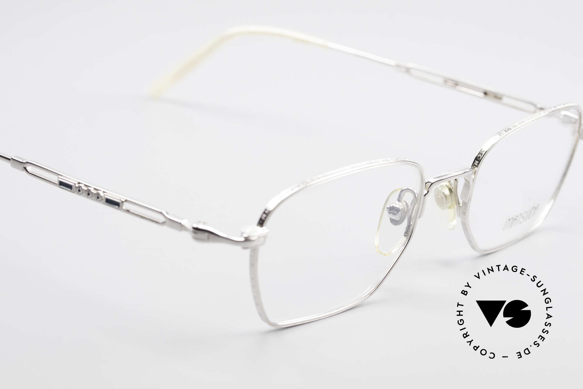 Matsuda 2882 Vintage Brillenfassung Eckig, ungetragenes Einzelstück für Qualitäts-Liebhaber, Passend für Herren